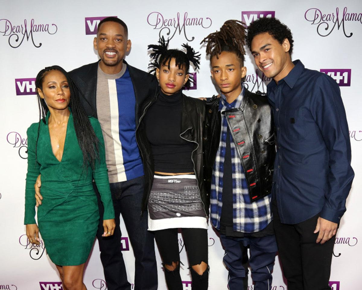 will smith willow smith . Will Smith y sus hijos