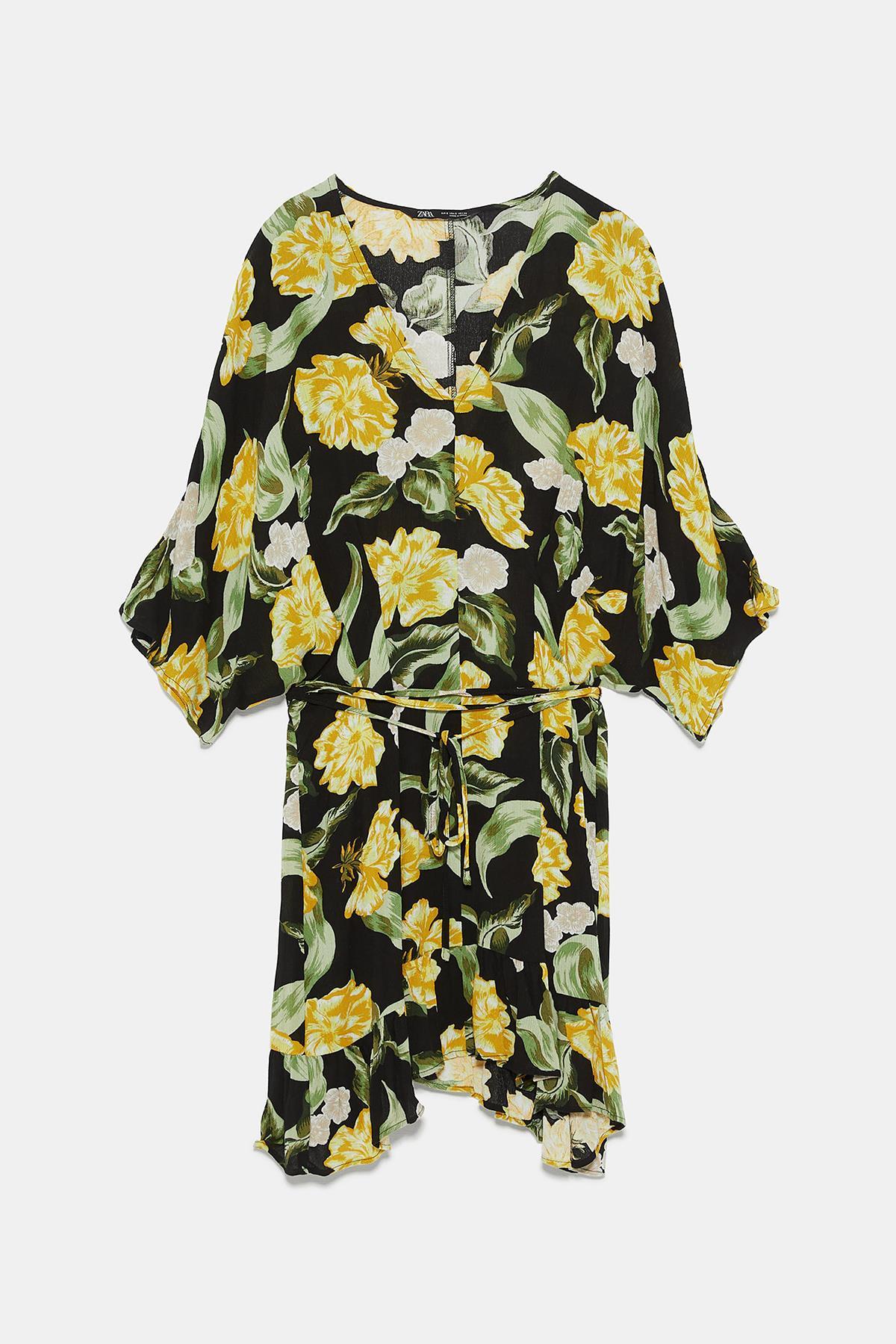 ea7a2fa2a1 Vestidos Zara colección primavera 2019  selección de los más bonitos ...