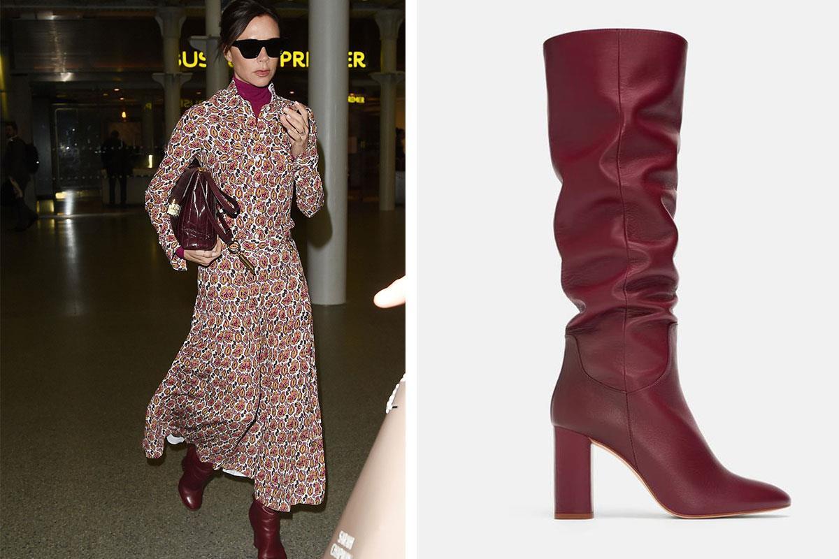 c750be11a botas-victoria-Beckham. Zara tiene las botas favoritas de Victoria Beckham