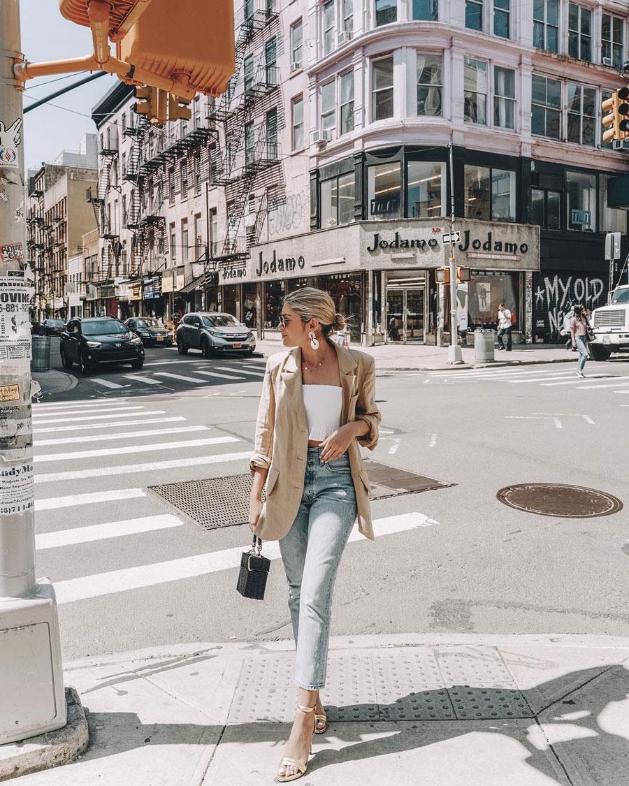 De Instyle Blazer Verano Primavera Mujer Moda 2019 DI9HWE2Ye