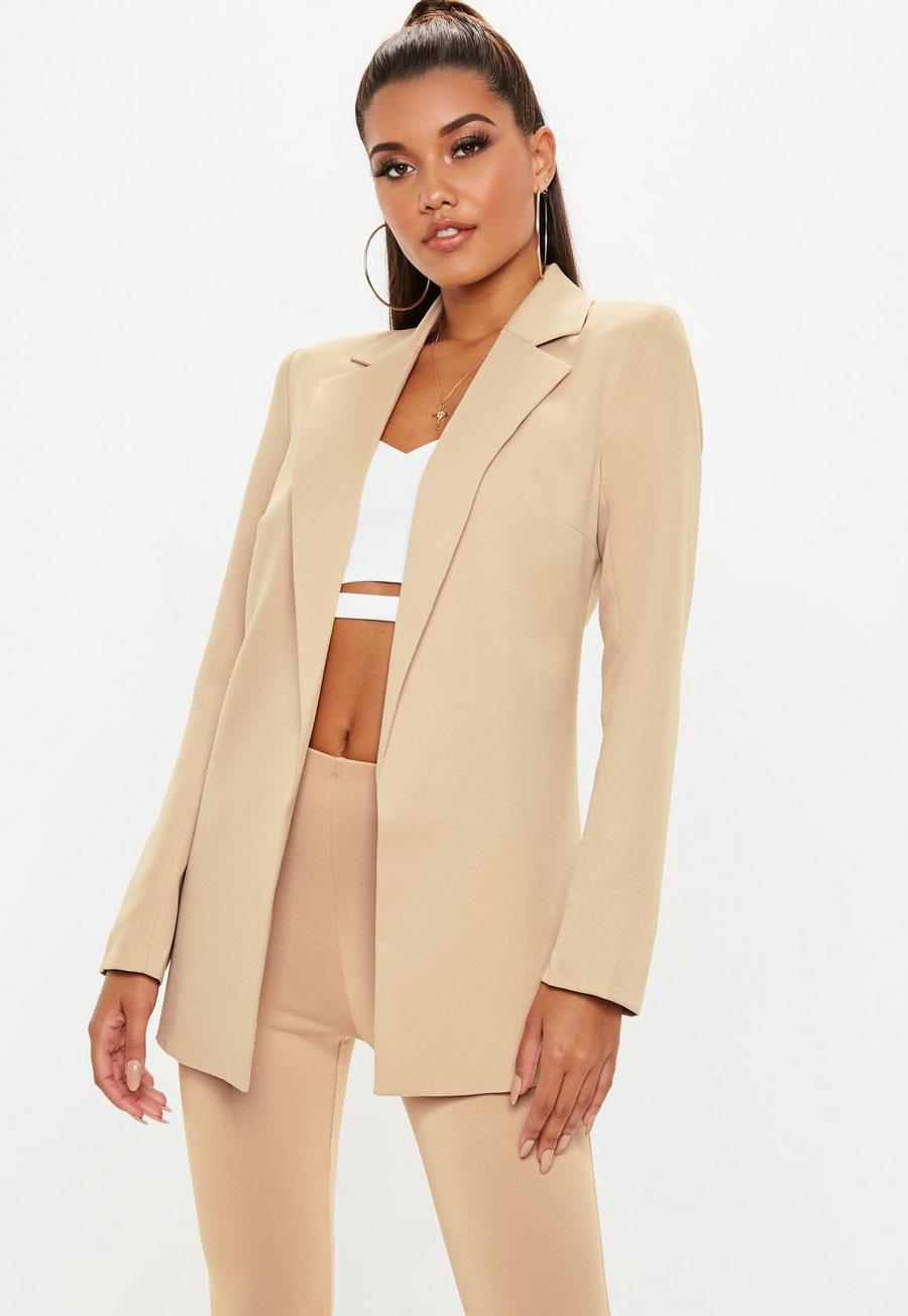 55786b489f738 Blazer mujer de moda primavera verano 2019 - InStyle