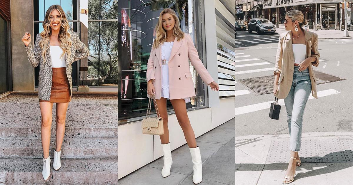 aced130afc2 Blazer mujer de moda primavera verano 2019 - InStyle