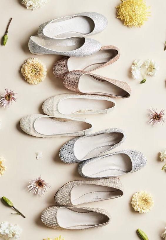 Zapatos Planos Novia Mujer Primavera Fiesta Zapatos De