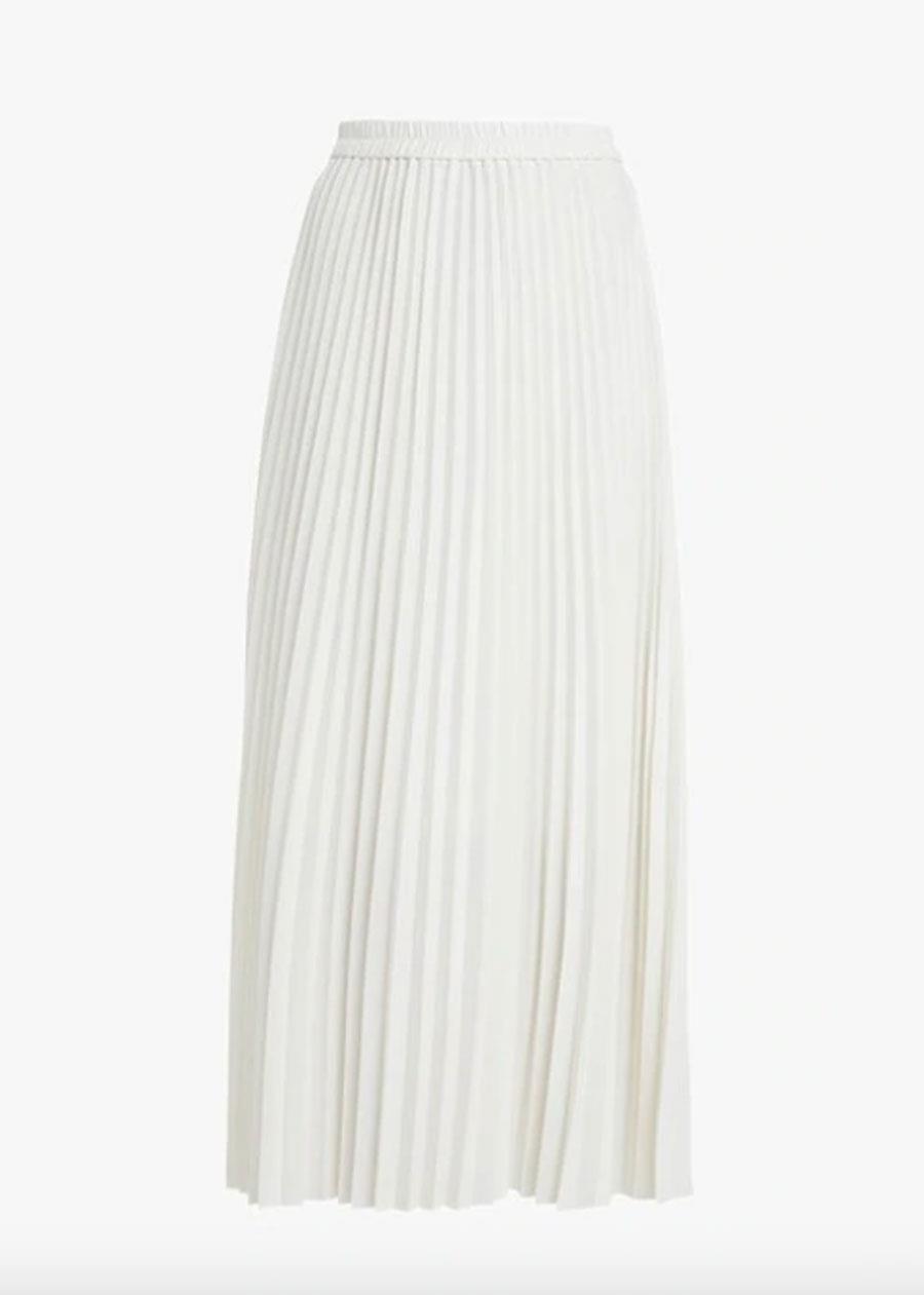 c6dfc999c7 falda plisada blanca. Falda plisada blanca