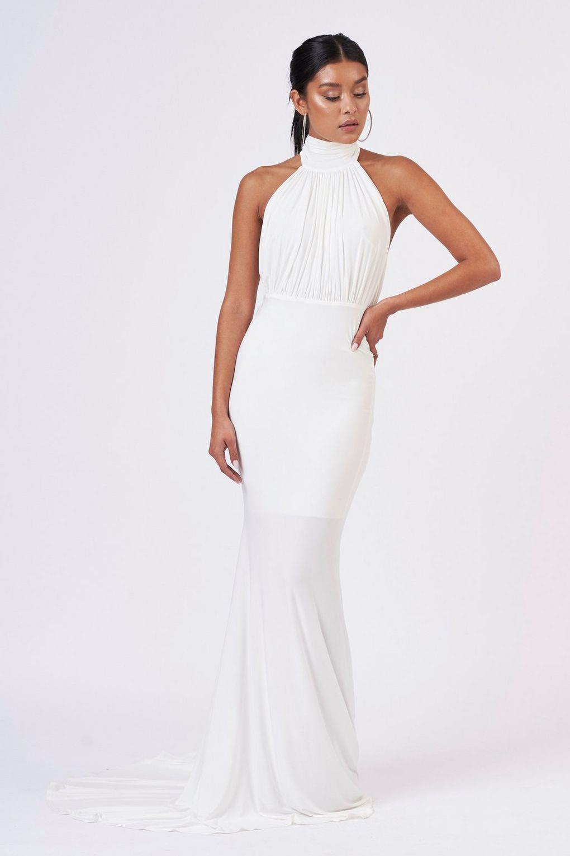 Vestidos de 15 largos y blanco