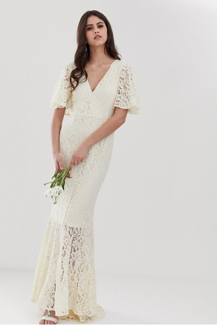 vestidos de novia baratos moda primavera verano 2019 - instyle