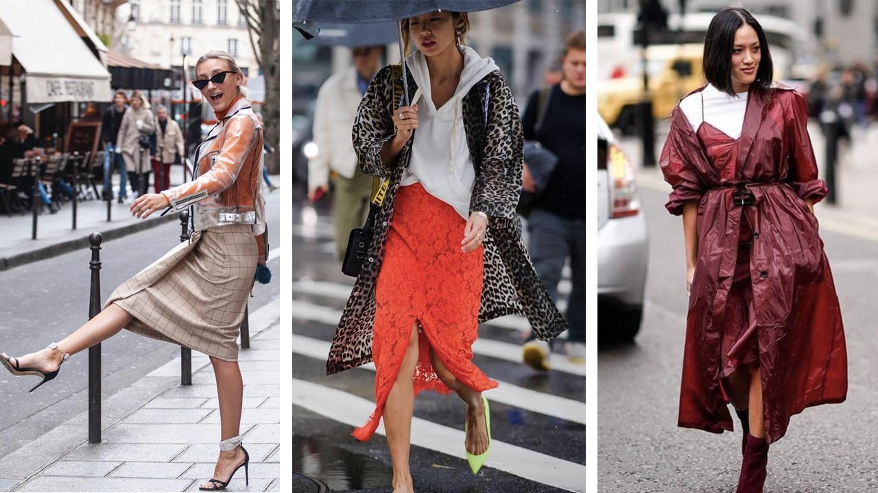 mejores marcas encanto de costo último estilo de 2019 Chubasqueros de mujer:la tendencia de moda de la primavera ...
