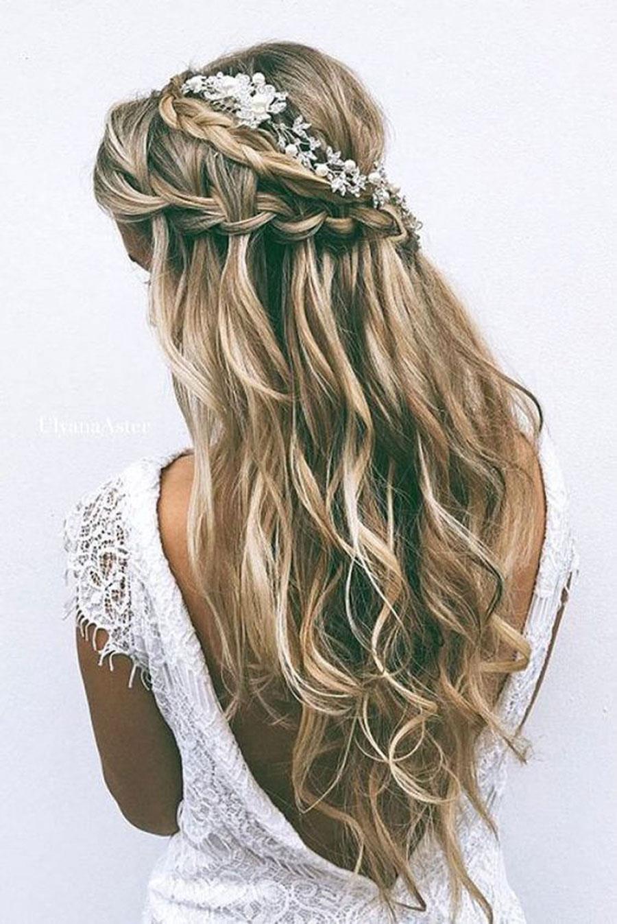 Fotos de peinados de novia