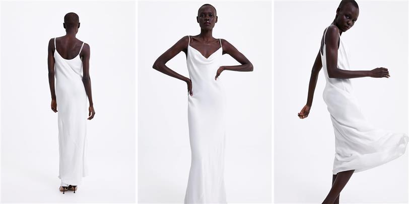 el vestido de novia con la lista de espera más larga es de zara
