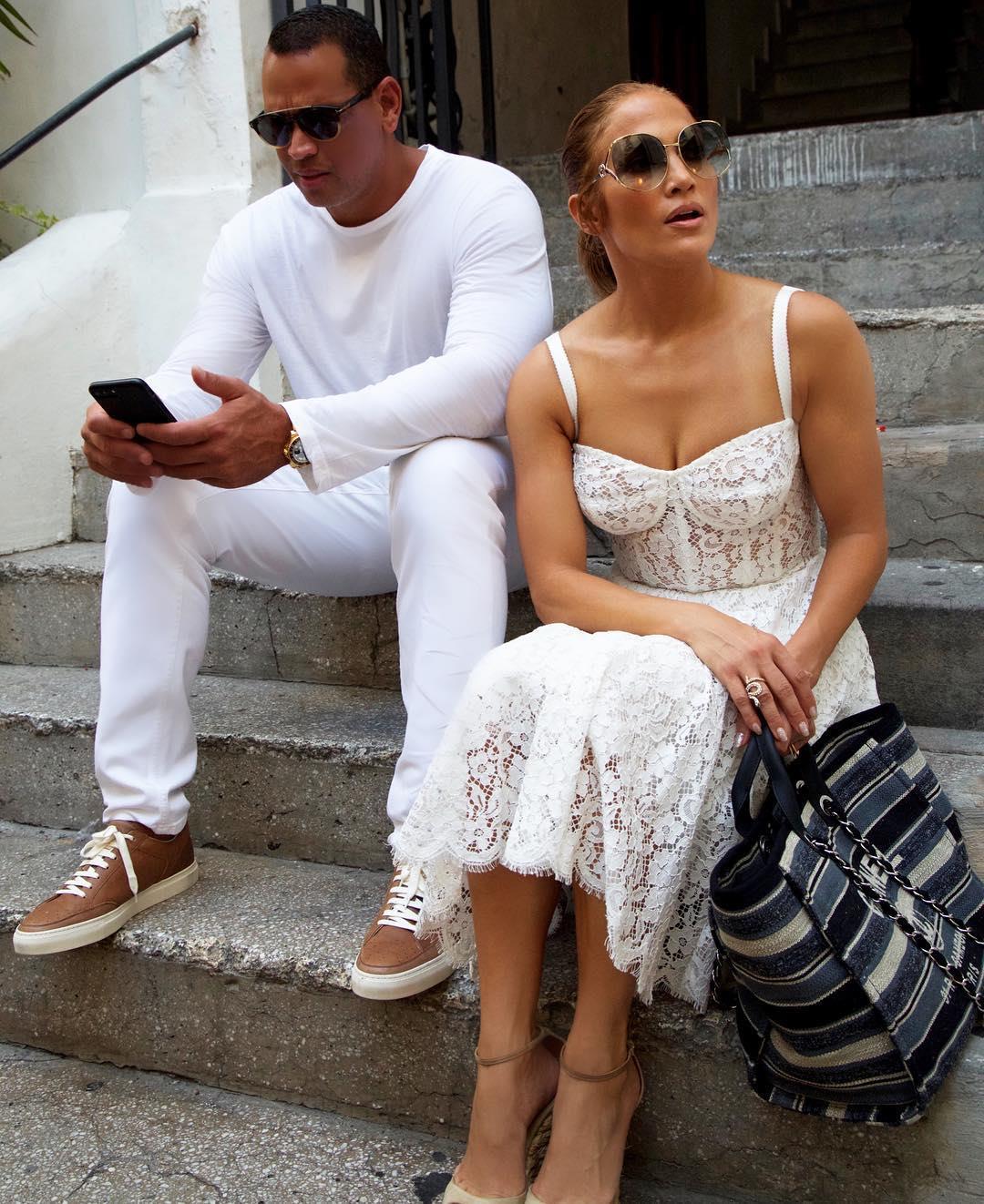 Vestidos De Novia De Famosas Jennifer Lopez