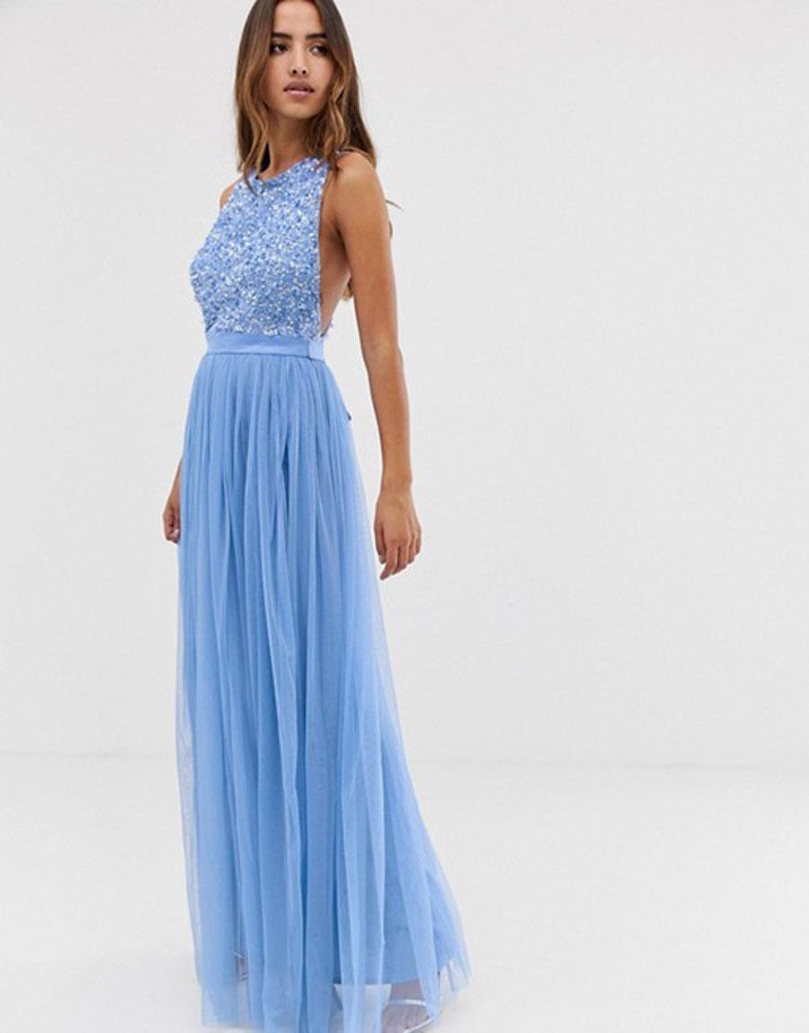 7411300dbb Vestidos de damas de honor baratos  los más bonitos de moda ...