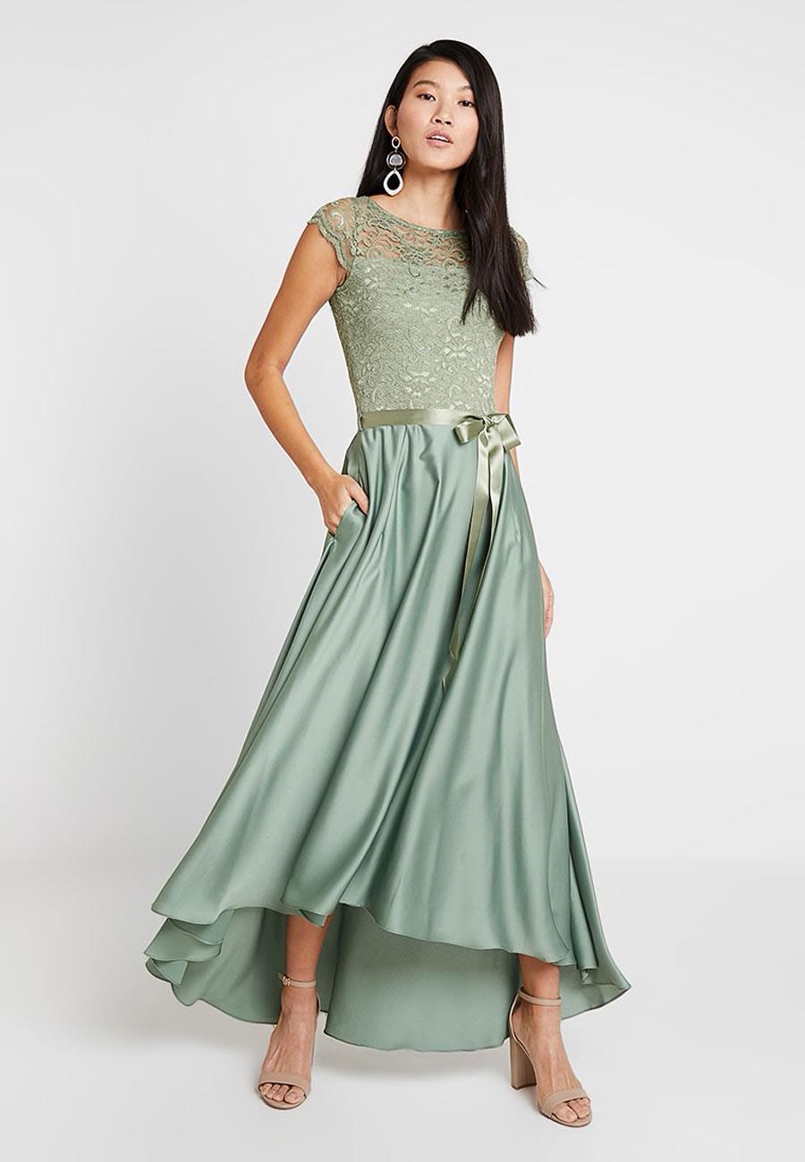 4a973a9326 vestido dama de honor verde. Verde pastel