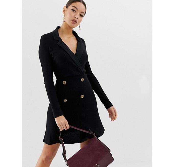 676f1acb28 Vestido blazer  10 vestidos de moda que suben de nivel tu look - InStyle