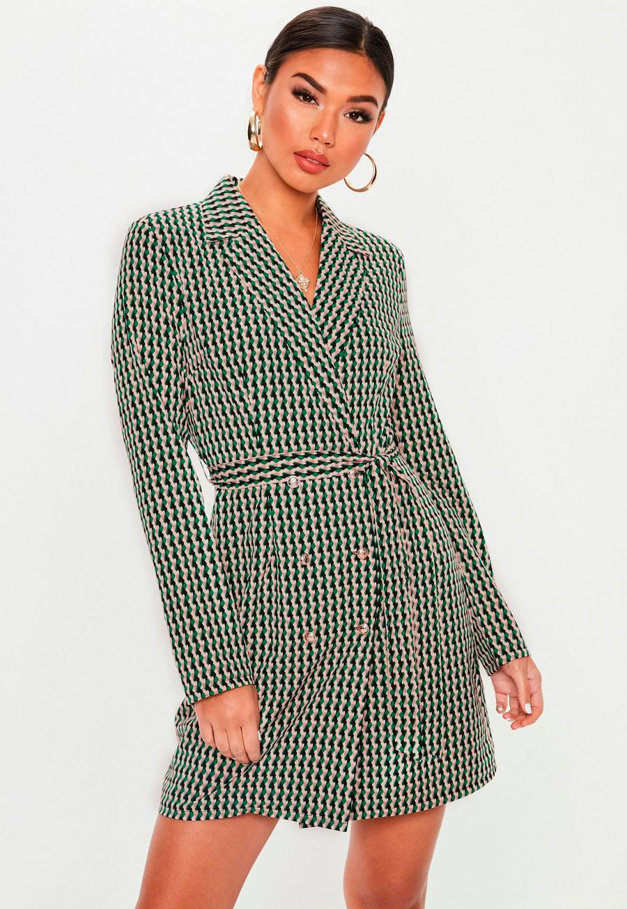 1d88b4a0d375d Vestido blazer  10 vestidos de moda que suben de nivel tu look - InStyle