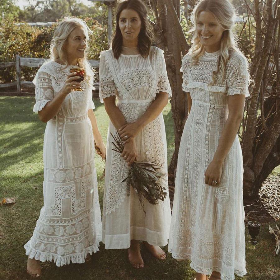 c0591713e vestidos damas de honor vestidos blancos. Vestidos de damas de honor en  color blanco