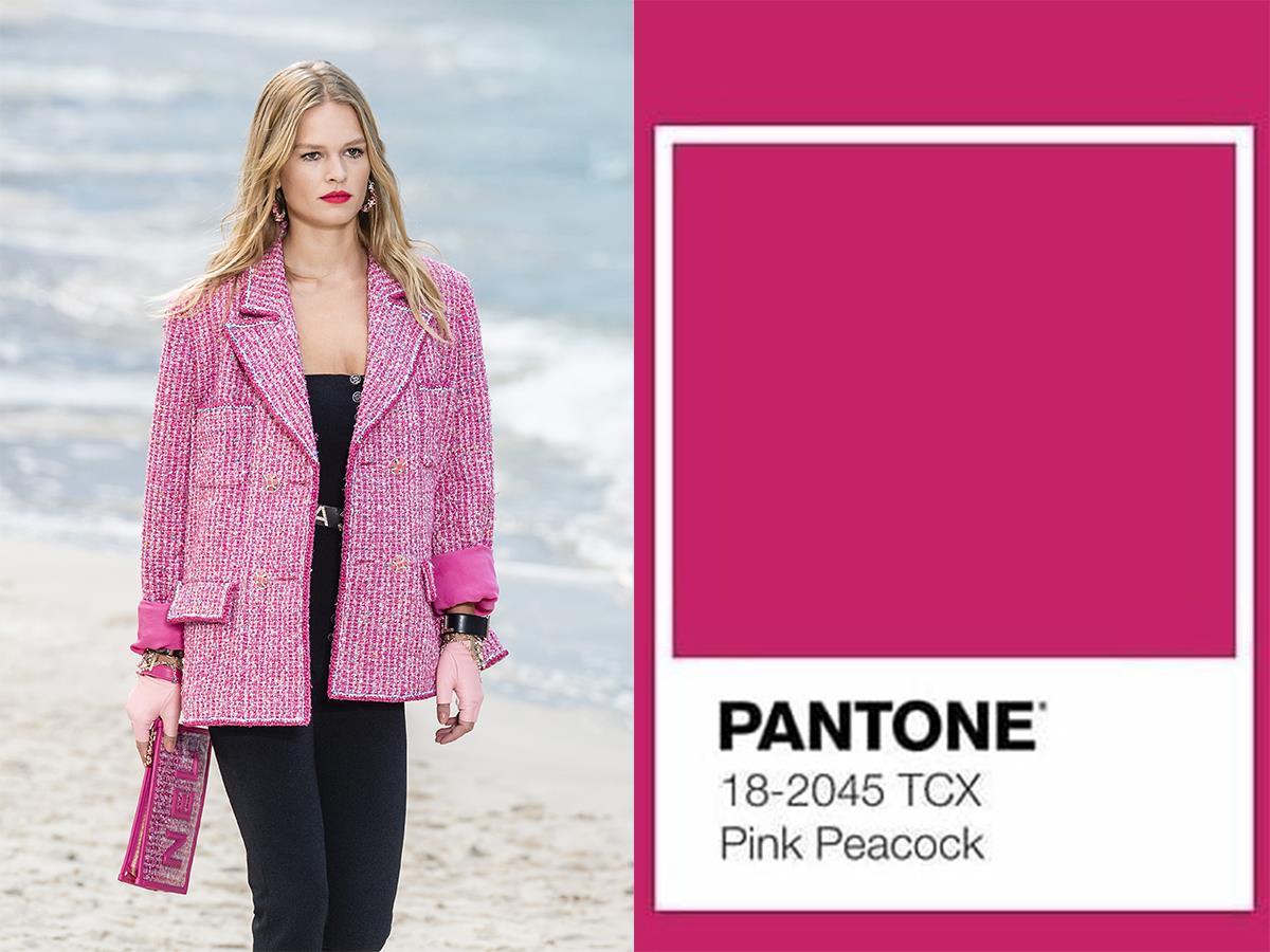 c324bfa7e chanel-color-pantone-moda. Pantone 18-2045 TCX - Pink Peacock
