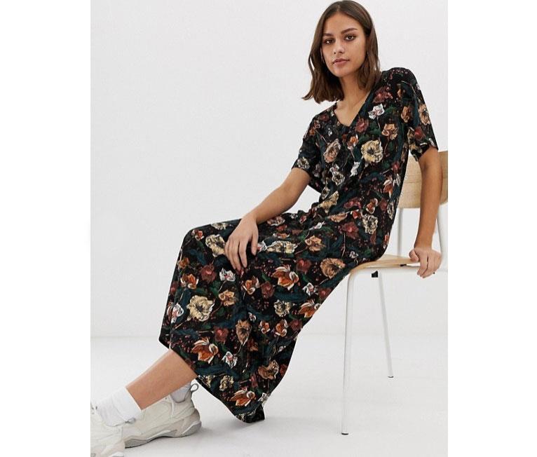 67a0e0f956e vestido-flores. Un vestido de flores