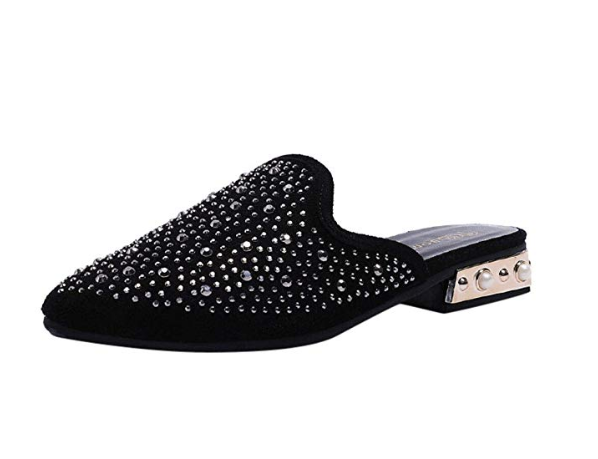 Combinado Zapatillas de moda Tejano Zapatillas de moda para