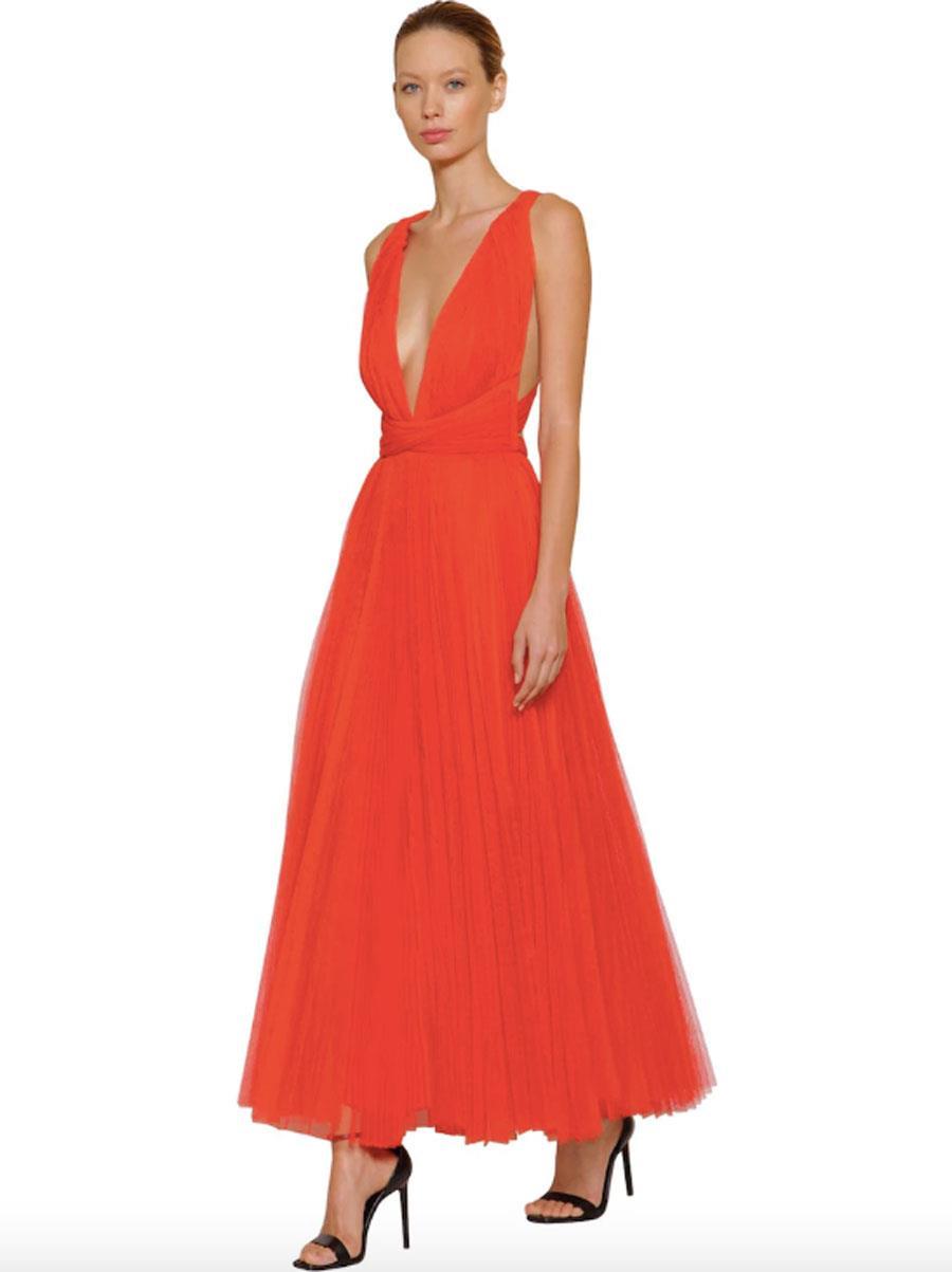 9f1c15b0d2 vestido-de-invitada-primavera-verano-2019-rojo. Vestido rojo