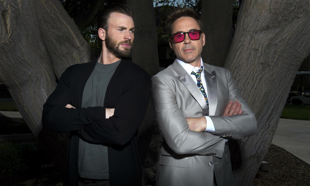Chris Evans y Robert Downey Jr