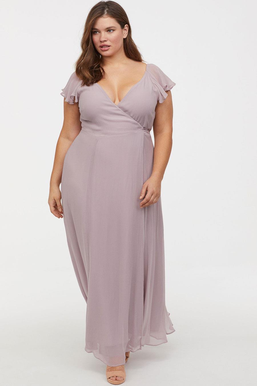 c4024d7d46 vestidos moda primavera verano 2019 para gorditas de invitada largo. Vestido  de invitada perfecto