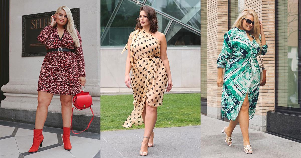 d4401e5b0 Vestidos para gorditas  moda Primavera-Verano 2019 - InStyle