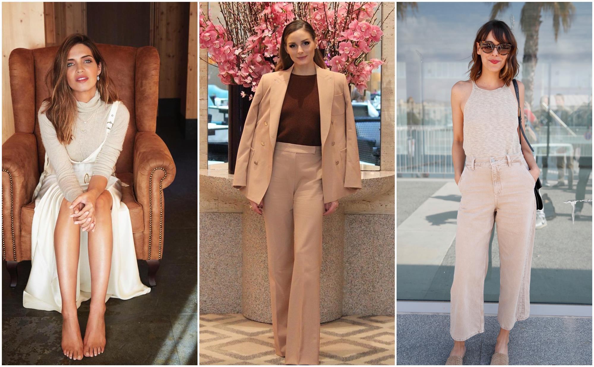 4d05d775e65a Sara Carbonero, Olivia Palermo, Belén Cuesta... y muchas más ya llevan el  beige, el color más rústico de esta primavera, en pantalones, tops,  blazers, ...