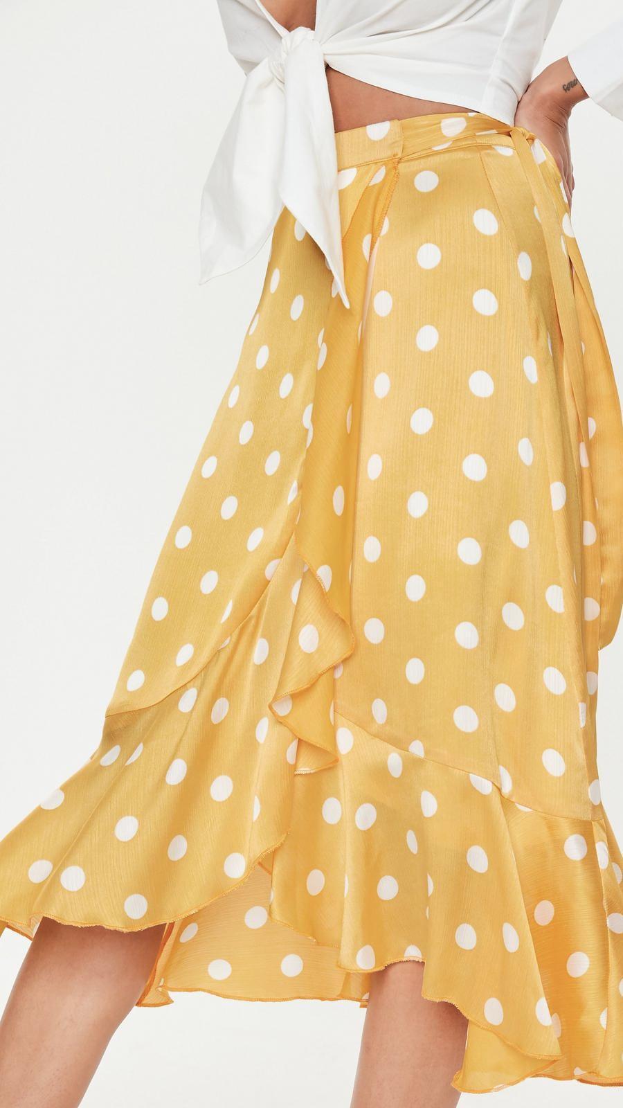 nuevo concepto 7a1ce ba02d Faldas pareo de moda de la primavera 2019 que sientan muy ...