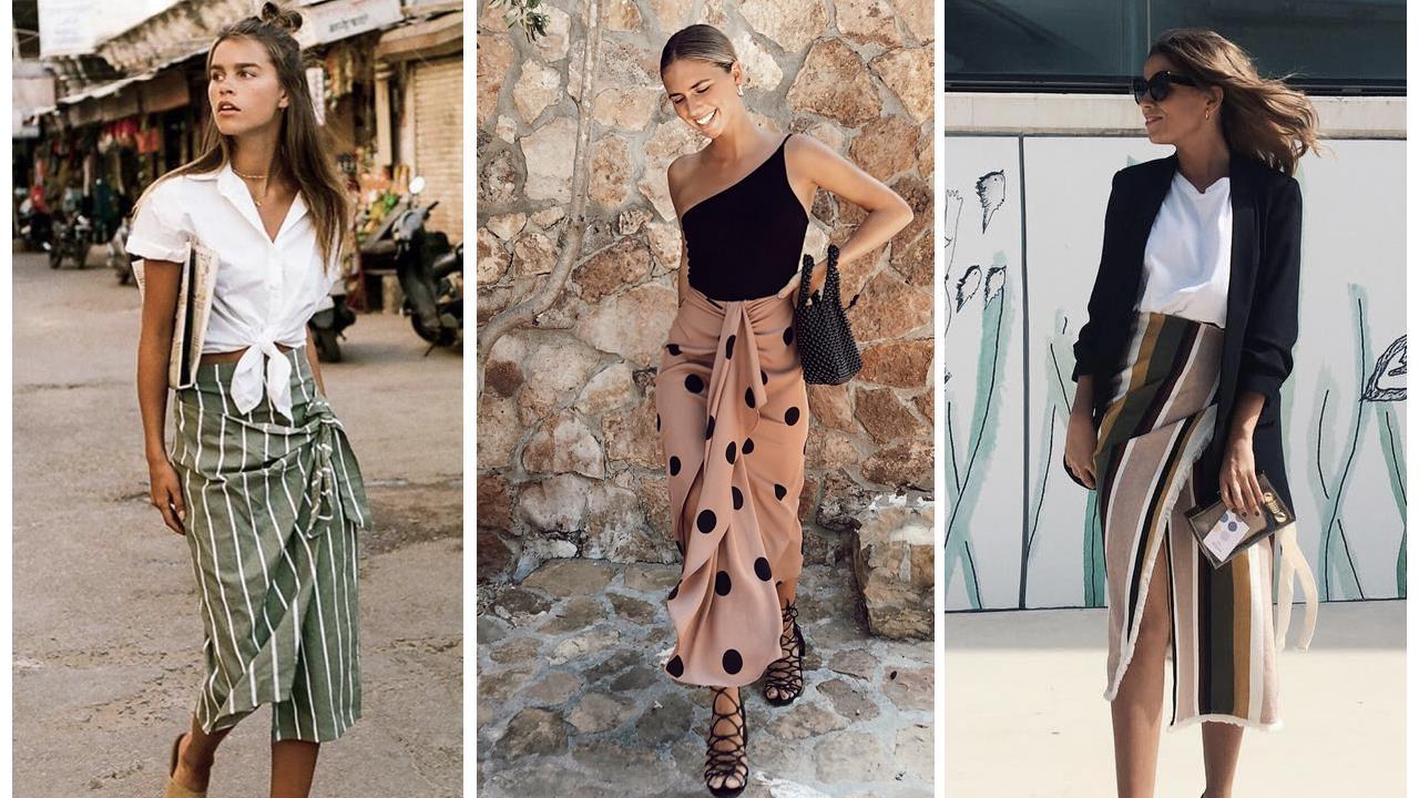 e22124a86 Faldas pareo de moda de la primavera 2019 que sientan muy bien - InStyle