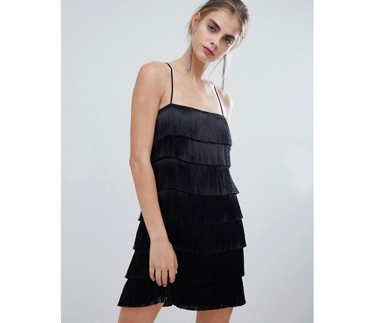 821e9e02d8d6 Vestidos con flecos: la prenda tendencia de la primavera 2019 - InStyle