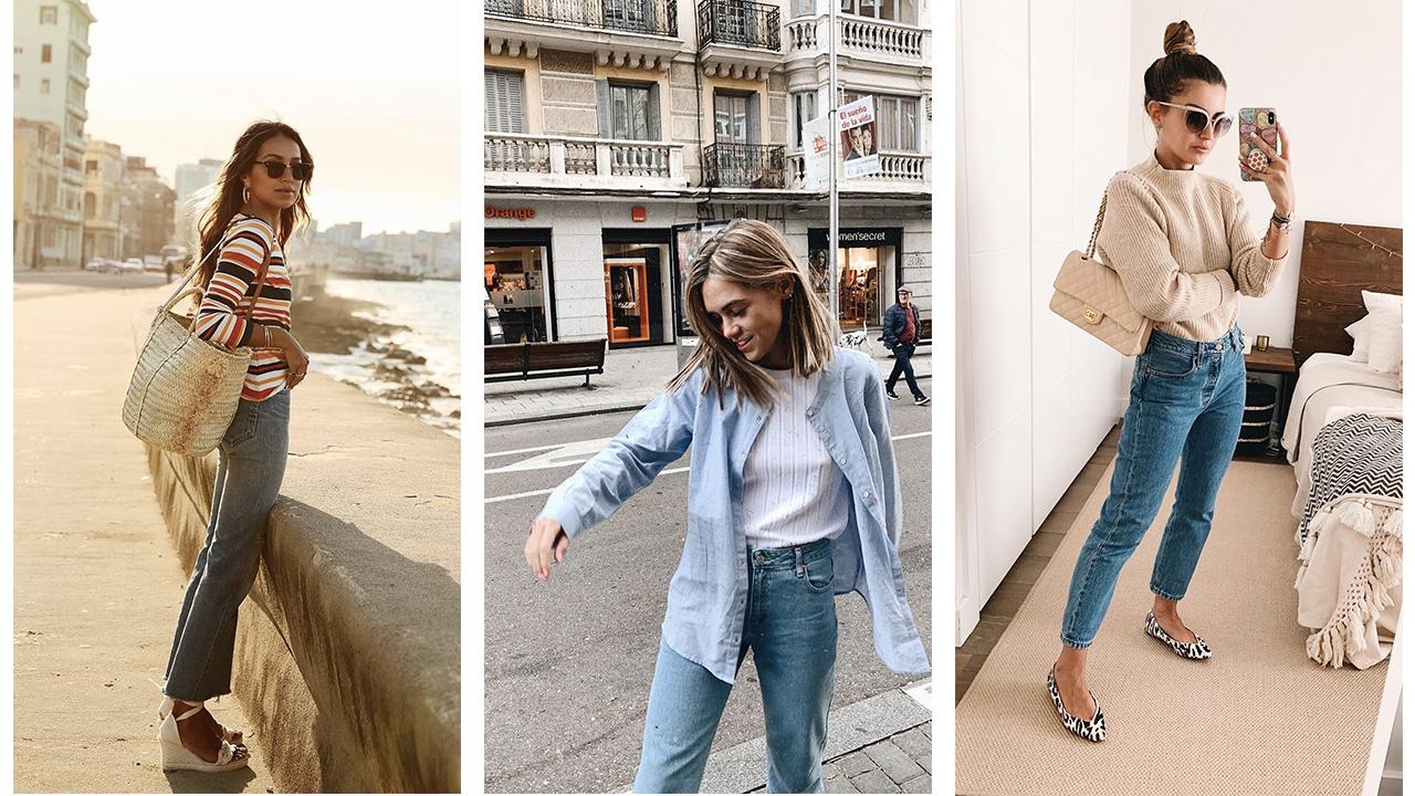4db559ecf Como combinar pantalones vaqueros mujer esta primavera verano 2018 - InStyle