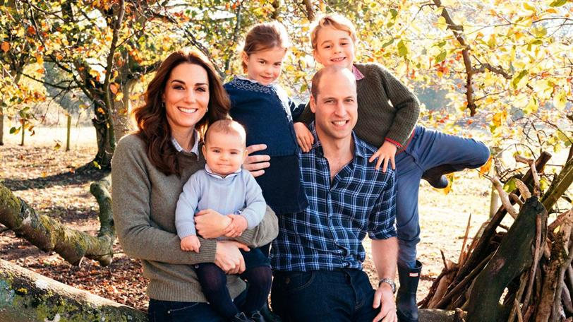 William y kate familia