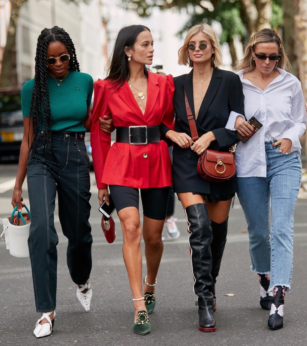 Cinturones anchos que estilizan para primavera 2019