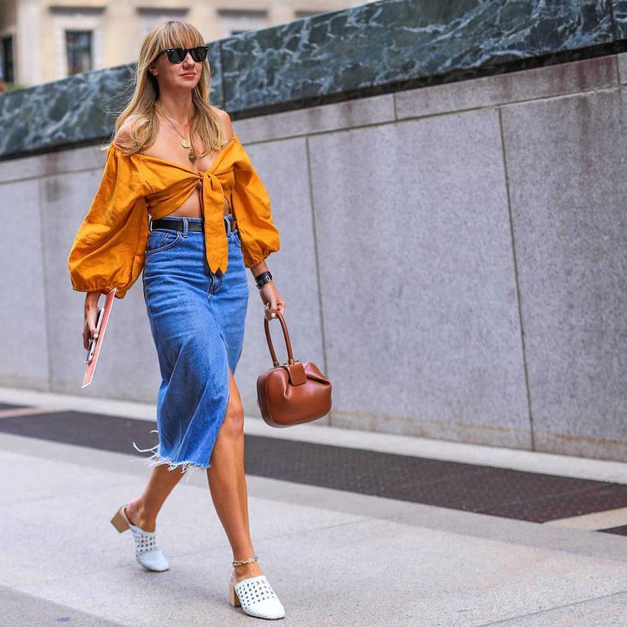 Colores Que Combinan Con Naranja Moda Primavera Verano 2019