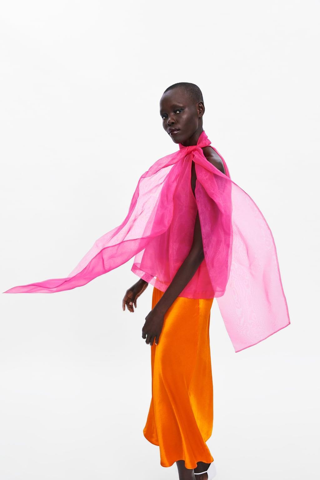 9ac2b9000 Zara faldas midi: falda saten midi Juego de Tronos - InStyle