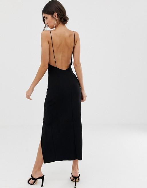 Venta > vestido con escote atras > en stock