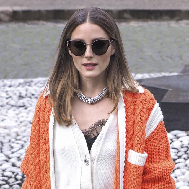 37adfa5c587 Olivia Palermo sabe qué prenda de abrigo es perfecta para el entretiempo
