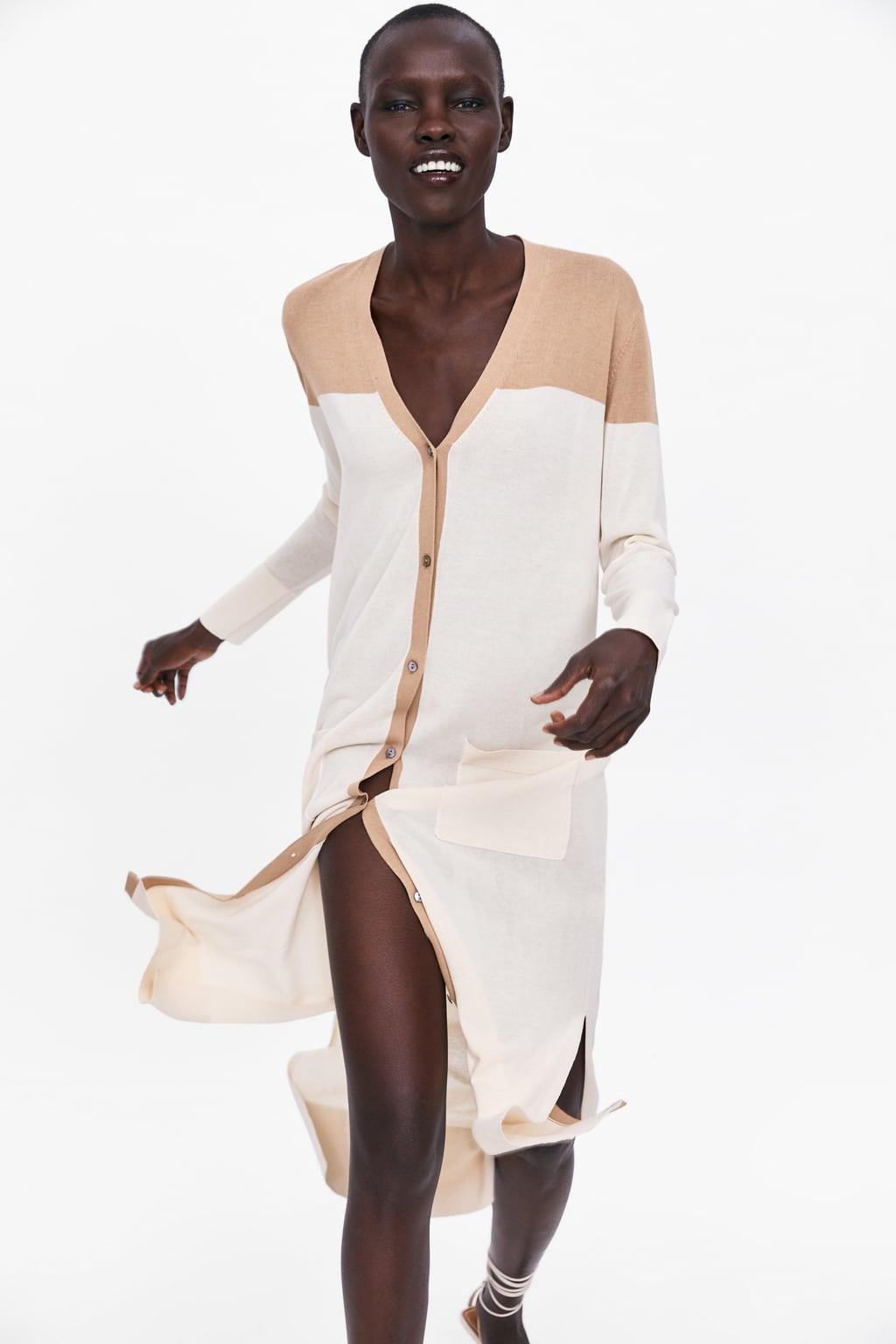 disponibilidad en el reino unido 6bd4a 44eab Chaquetas Zara mujer que puedes usar como vestidos largos ...