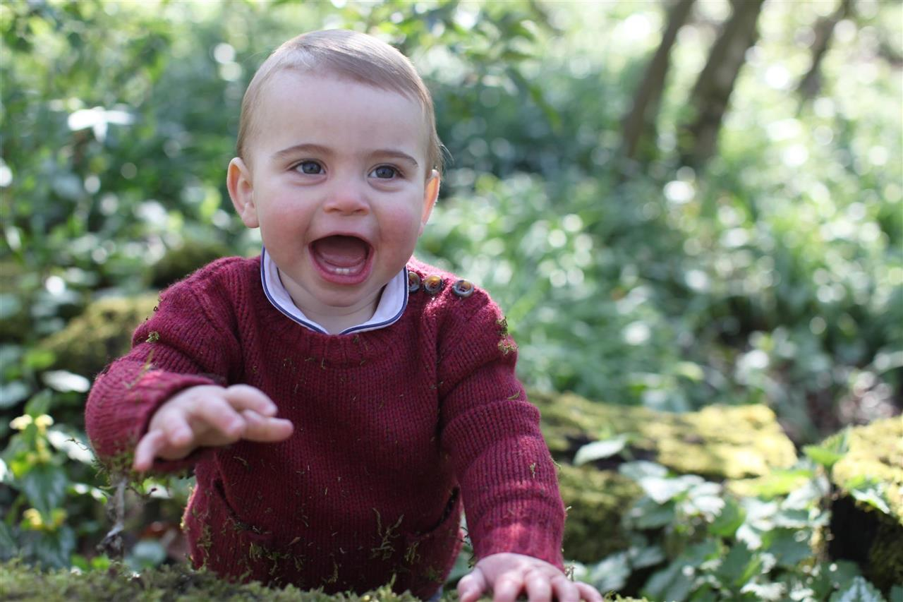 El príncipe Louis, hijo de Kate Middleton y el Príncipe William