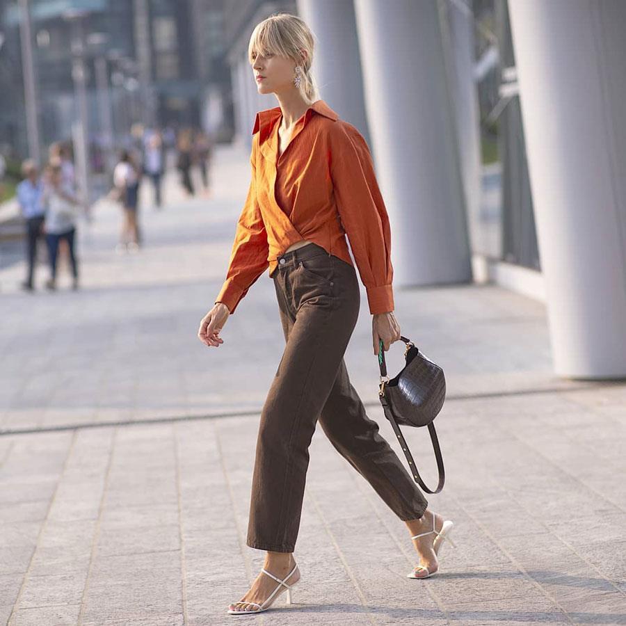 Colores que combinan con marrón: moda primavera verano 2019