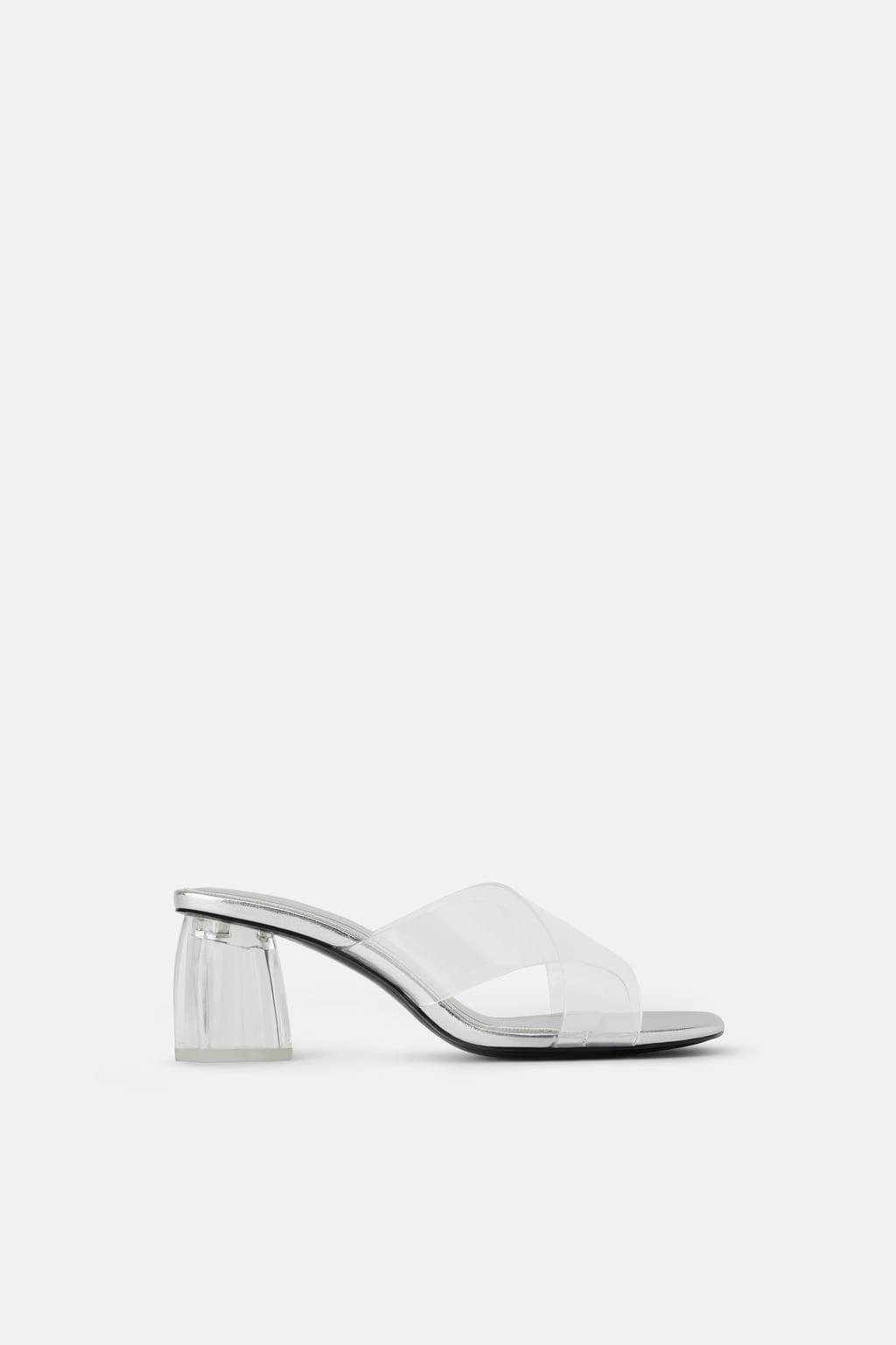 De Más Zara Mujer Moda TransparentesLos Zapatos Sandalias UqSpMVz