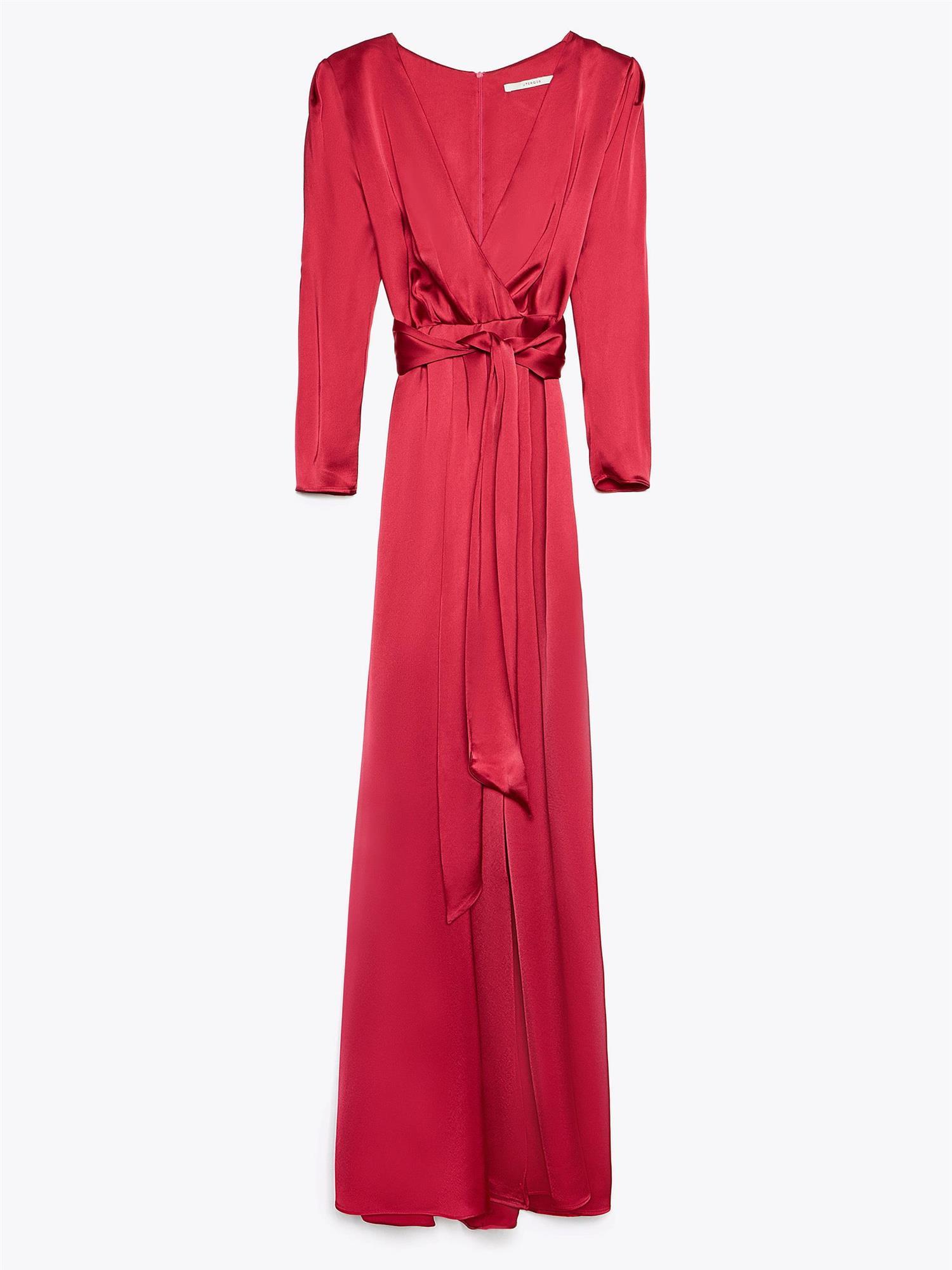 f8628f76db6 8-vestido-largo-rojo-uterque. Vestido largo rojo