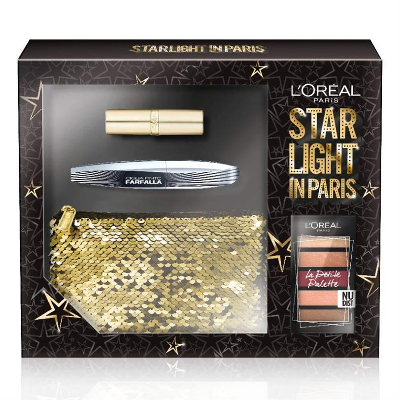Kit de maquillaje Star Light en Paris de L'Oréal Paris