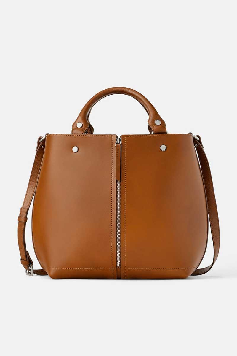 016590b4c Bolso shopper de Zara bolsos mujer para ir a la oficina - InStyle