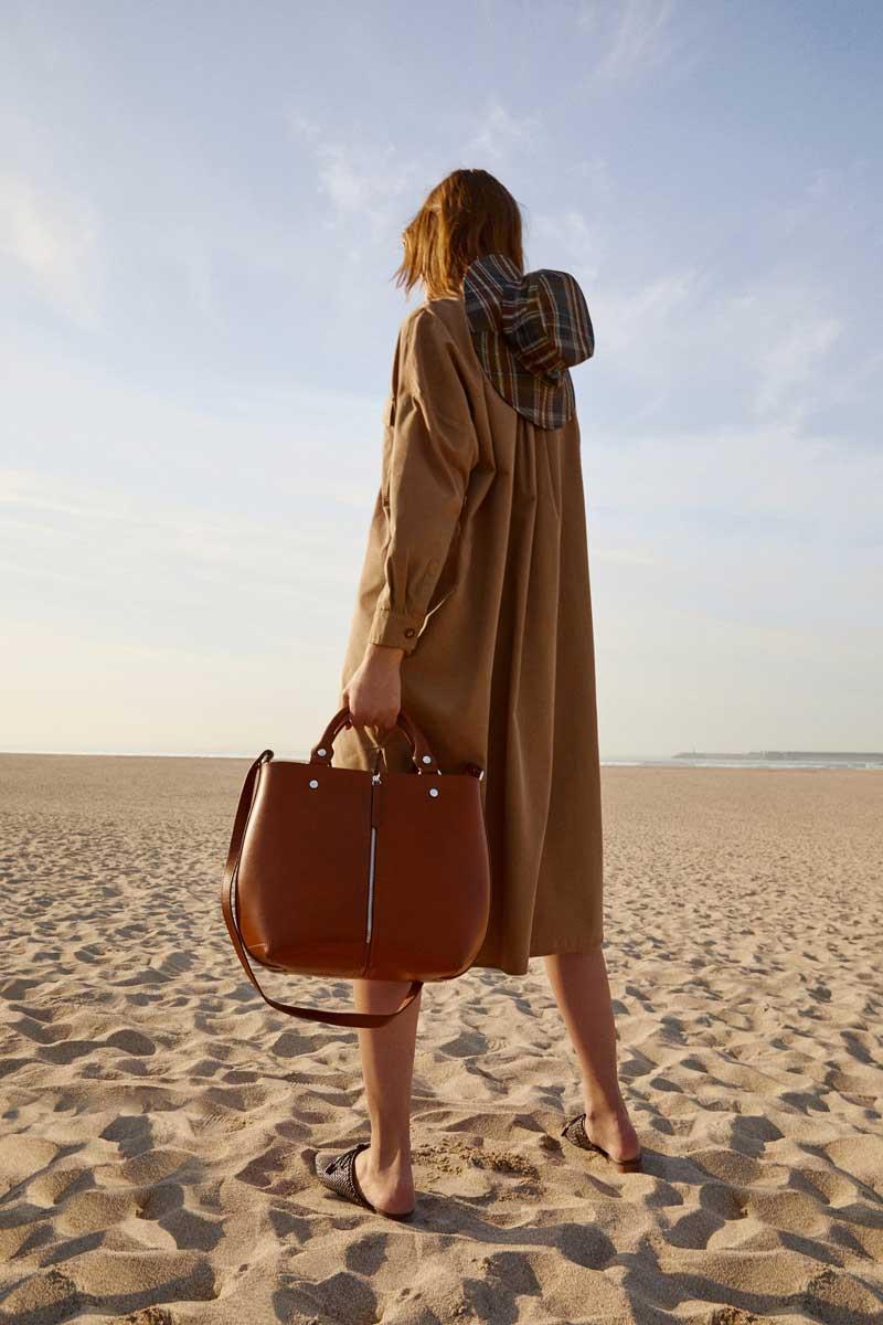 f4056d4ce Bolso shopper de Zara bolsos mujer para ir a la oficina - InStyle