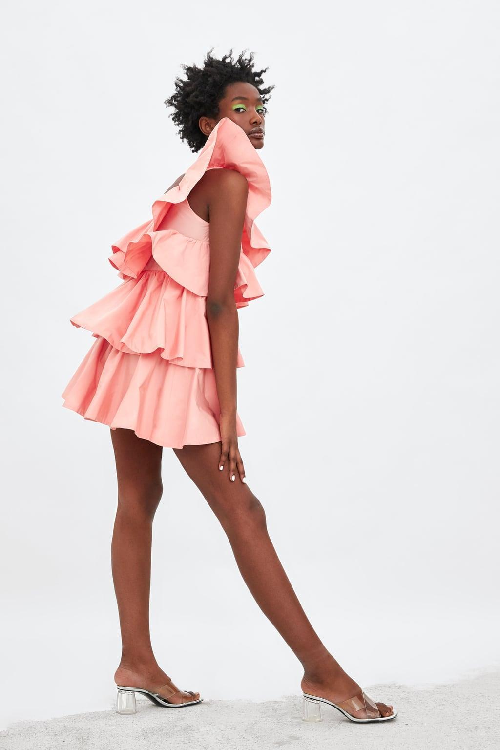 zara vestidos el vestido volantes zara que vas a necesitar