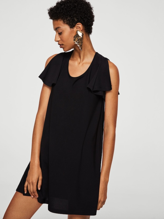 5-vestido-negro-barato-mango-outlet. Little Black Dress