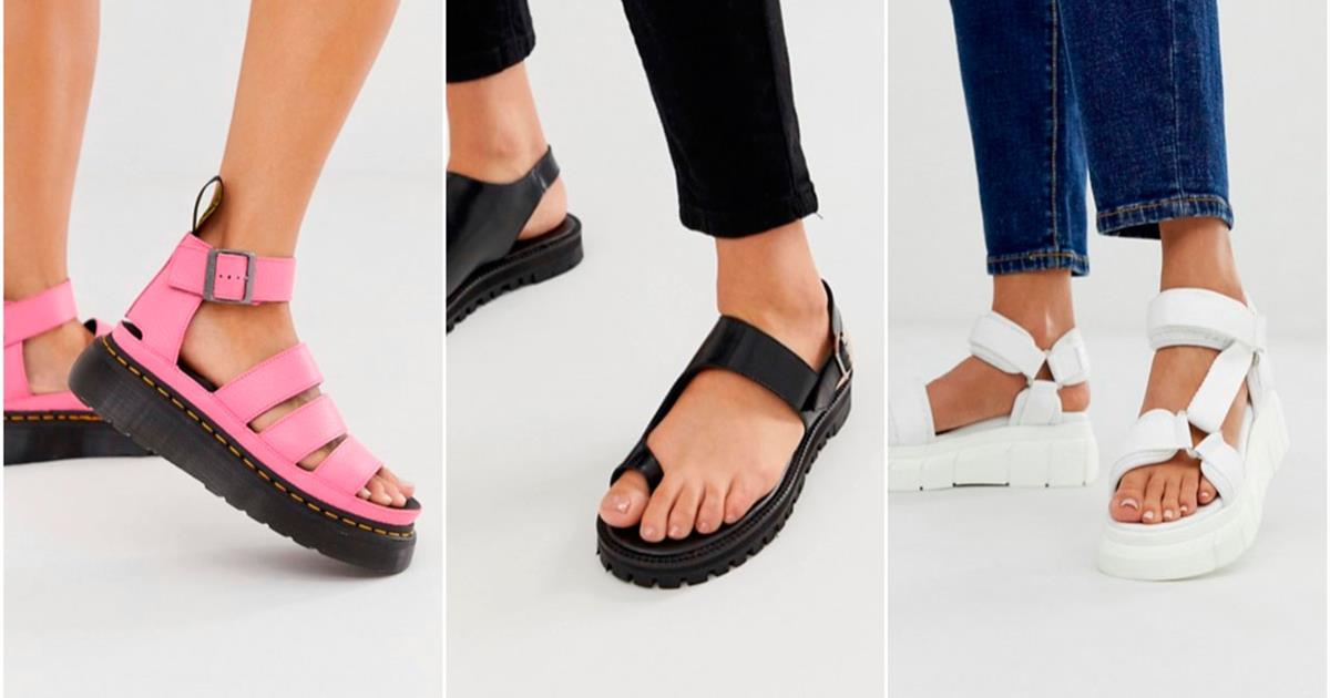 b03969073 Sandalias mujer plataforma cómodas y bonitas de moda verano 2019 - InStyle