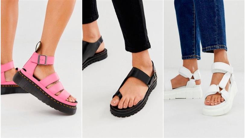 completamente elegante comprar barato nuevas imágenes de Sandalias mujer plataforma cómodas y bonitas de moda verano 2019
