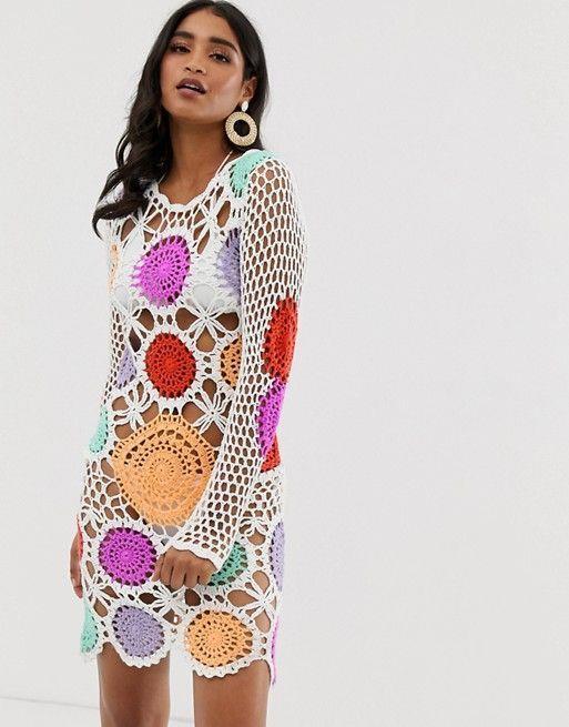 Vestidos Playeros Con Transparencias De Moda Verano 2019